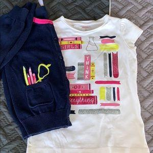 Gymboree Girls Think Of Everything shirt